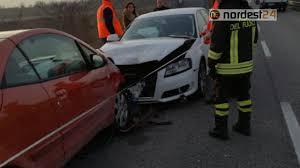 Incidente tra Spilimbergo e Dignano: tamponamento a catena ...