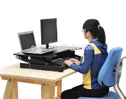 whole portable and height adjule standing desk with factory bottom
