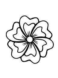 Printable Flower Coloring Pages Download Here Print Here Free