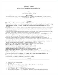 Sample Resume For Business Analyst Inspiration Senior Business Analyst Resume Sample Socialumco