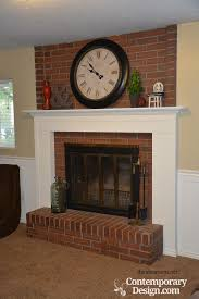 the 25 best red brick fireplaces ideas on red brick paint brick fireplaces and brick fireplace
