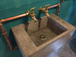diy concrete sink awesome other kitchen custom sinks custommade regarding concrete
