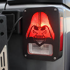 Star Wars Porch Light Covers Xprite Black Light Guard Star War Darth Vader For Rear Tail