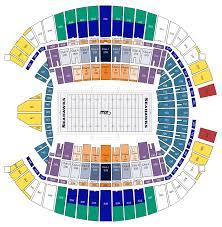 Centurylink Field Seating Map World Map 07