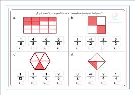 2017 ejercicios fracciones matemáticas primaria el mundo de los números educapeques