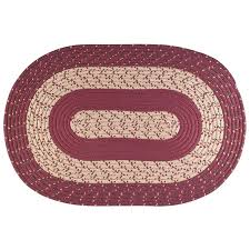 oval braided rug by oakridge