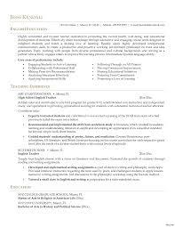 English Teacher Resume Samples Sample Resume English Teacher Resume For English Teacher 7