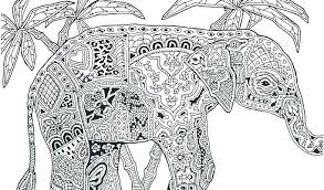Elephants Coloring Pages Baby Elephant Coloring Page Vector Art Baby