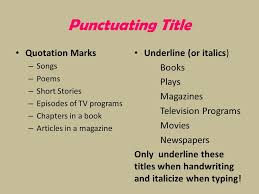 types of writing in th grade english informational essay  7 punctuating title