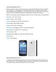 How To Unlock Samsung Galaxy Core LTE ...