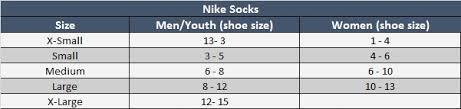 Nike Size Chart Youth Bedowntowndaytona Com