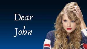 Taylor Swift - Dear John (Lyrics) - YouTube
