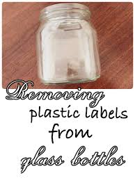 in today s post of the 100 days of homemaking skills series i l show you an easy way to remove those stubborn labels and have your jars sparkling again