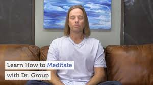 how to meditate in office. Learn How To Meditate With Dr. Group In Office
