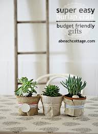 Decorating With Burlap Burlap Crafts Ideas For Pots Life By The Sea