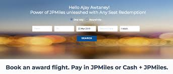 Now Redeem Jpmiles For Flight Booking On Any Seat Across