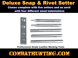 65 6275 weaver leather snap tools rivet setter tools deluxe 4p leather working tools