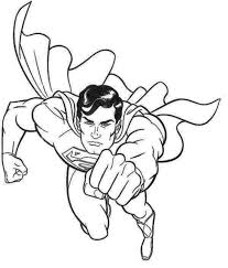 Small Picture Handsome Superman Coloring Page Superman Pinterest Coloring