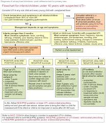 Urine Dipstick Chart Uk Assessment And Diagnosis Of Possible Uti In A Child