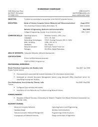 Sample Resume Of College Student For Internship Best Sample Cv For