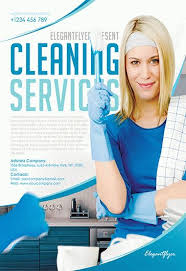 Cleaning Brochure Cleaning Services Flyer Psd Template