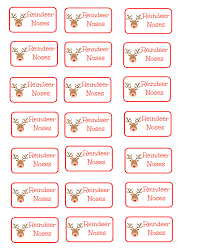 printable labels for mason jars diy mason jar reindeer noses the house of pannek