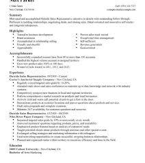 Resume Objective For Sales Position Best of Resume Salespresentativemarkable Template Medical Best Remarkable