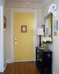 Meredith's Nob Hill Home - entryway flowers plus lamp