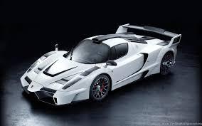 white ferrari cars wallpapers. With White Ferrari Cars Wallpapers