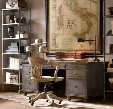 antique desks for home office. Antique Desk Ideas With Wooden Swivel Chair And World Map Desks For Home Office S
