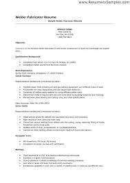Welding Resume Examples Magnificent Good Welder Resume Examples We Have A Great Deal Of Welder Resume