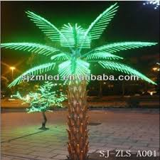 decorative palm trees with lights