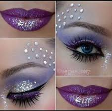 tutorial eyeshadow makeup beauty there is no such thing as too much glitter for a belly dancer