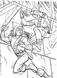 Small Picture GI Joe Storm Shadow Versus Snake Eyes Coloring Pages Batch