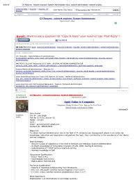 Print Cv Resume Network Engineer System Administrator Cisco