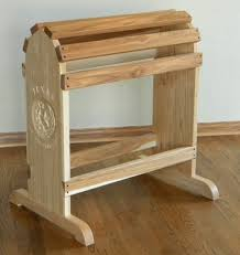Saddle Display Stands Hand Crafted Furniture Quality Saddle Rack by North Texas Wood 33