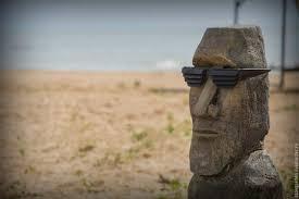 exterior cottage home handmade livemaster handmade moai statue from easter island