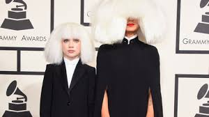 mad ziegler and sia attend the 57th annual grammy awards at the staples center on feb