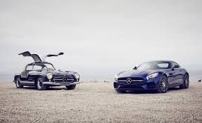 1955 Mercedes-Benz 300SL Gullwing vs. 2016 Mercedes-AMG GT S ...