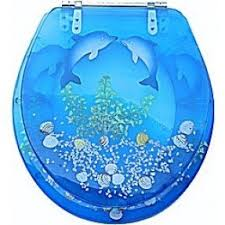 gold foil toilet seat. decorative toilet seat accessory is easy to install · gold foil