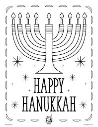 coloring pages hanukkah free printable crayola