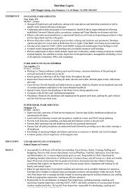 Park Ranger Resume Park Services Resume Samples Velvet Jobs 8