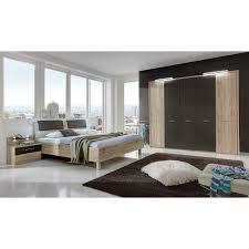 Komplett Schlafzimmer Monzara Modern In Eiche Pharao24de