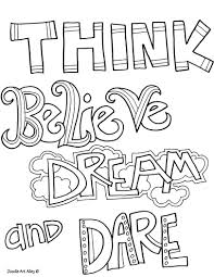 Doodle Art Alley Free Quotes To