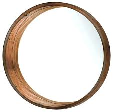 wall mirrors wood wall mirrors decorative large round mirror black framed wooden brown rustic contemporary