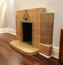 art deco fireplace hearth natural stone traditional
