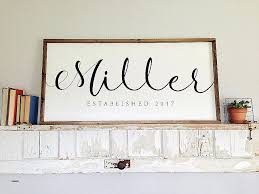 trendy inspiration ideas personalized last name wall art