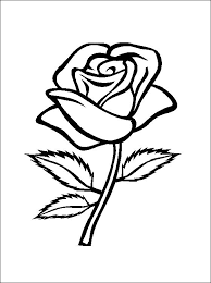 flower page printable coloring sheets rose coloring and printable page coloring pages