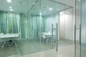 glass door office. glass door office