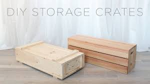 diy wood crates
